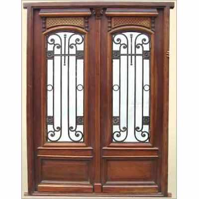 Amazing Antique and Restored Double Front Entry Door Finished!!! B1188
