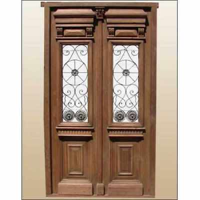 Antique and restored Double Entry Door A1381