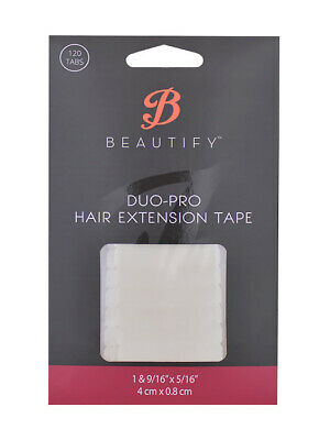 Duo Pro Hair Extension Tape Tabs 120pce - Best Hair Tape Adhesive for Extensions