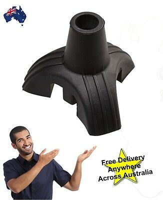 Tripod Cane Tip attachment Stopper / helps your walking stick stand by itself