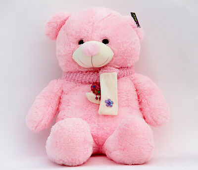 "Joyfay® Big 39"" 100cm Pink Teddy Bear Soft Stuffed Plush Toy Birthday Gift"