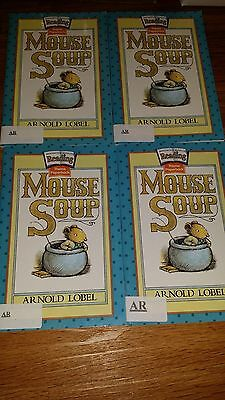 lot of 4 Mouse Soup books theme paperbacks teachers free shipping accel readers