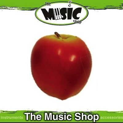New Remo Apple Shaped Percussion Shaker - Child Safe, Non-Toxic Beads - SC-APLG