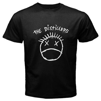 new THE DISTILLERS Logo Punk Hardcore Rock band band rancid Mens S to 4XLT