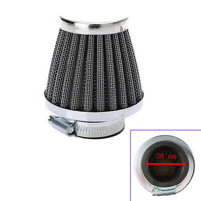 38MM Motorcycle Motor Power ATV Scooter Cone Race Air Filter Replacement Sales