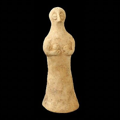 Ancient Anatolian Terracotta Fertility Idol