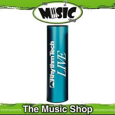 New Rhythm Tech Live Shaker in Blue - Great for Live Performances - ERT204