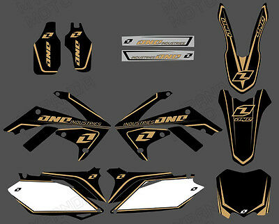 Team Graphics Decals For Honda Crf250R Crf250 2010 11 12 13 Crf450 450R 09-12 D7