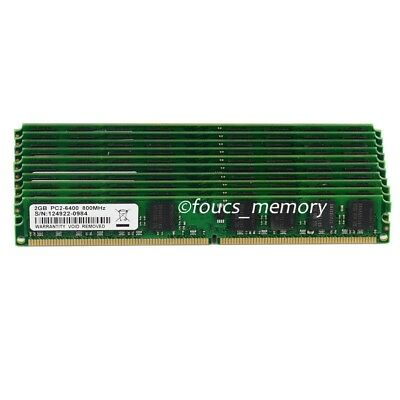 New Lots 20 x 2GB PC2-6400 DDR2-800 800Mhz 240pin Memory For AMD CPU Metherboard