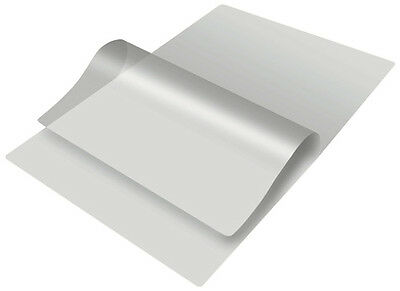10 A4 sticky back Heat Seal Gloss Laminate Pouches - 75 + 75 microns