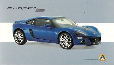 Lotus Europa S 2006 UK Market Foldout Sales Brochure