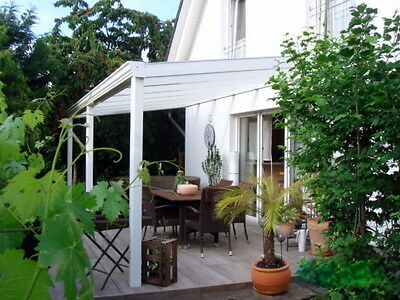 alu terrassen berdachung terrassendach carport 4m x 3m 16mm inkl montage. Black Bedroom Furniture Sets. Home Design Ideas