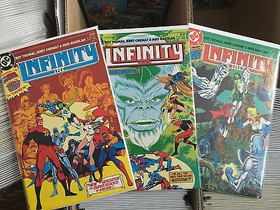 Infinity Inc #1-53+Annual 1 & 2 Complete Set Roy Thomas Jerry Ordway Dc