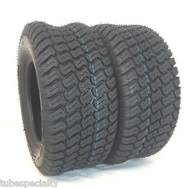 TWO 23X10.50-12 Turf Trac Lawn 23X1050-12 4 Ply Rated Lawn Mower Set Two Tire