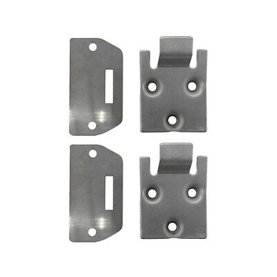 2 Sets of Seat Hinge Bottom and Plate for EZGO TXT Medalist Golf Cart (1995-up)
