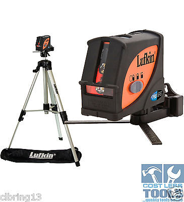 Lufkin Multi Line Laser Level + Plumb Dot Kit & Tripod - LCL4SET