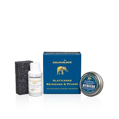 SET: Colourlock Lederreinger mild 30ml & Elephant Leather Preserver 15ml