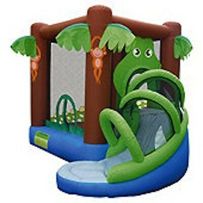 Crocodile Airflow with Slide Bouncy Castle 9113