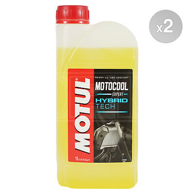 Motul Motocool Expert Ready To Use Motorcycle Cooling Liquid 2 x 1 Litres 2L