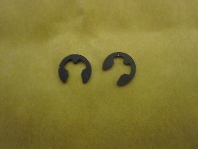 Metric E-Clip Retainers - Pack of 10 (To Fit 4.50mm Shaft)