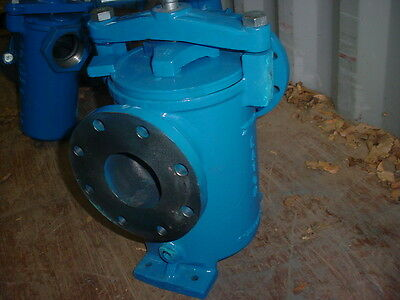 """New Eaton Model 72 4"""" Simplex Basket Strainer for Plunger Pump Applications"""
