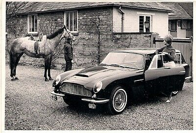 Aston Martin DB6 Radford Shooting Brake Mid-Late 1960s Original Press Photograph