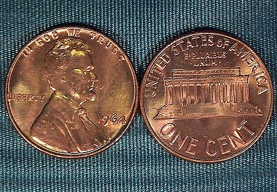 1964 (P) Lincoln Memorial CENT gem BU from old original roll $2.99 combined S&H