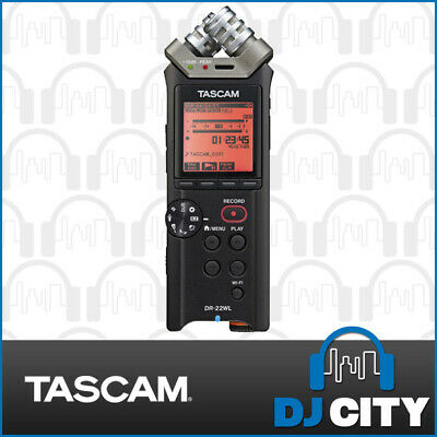 DR-22WL Tascam Portable Handheld Recorder with WiFi - DJCITY