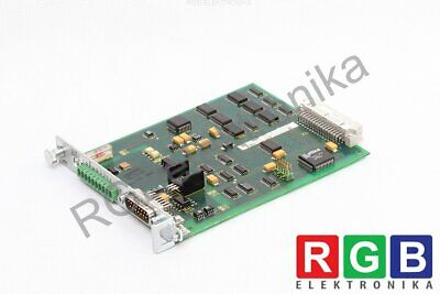 Daa01.1 Analog Interface With Absolute Encoder Emulator Indramat Id5616