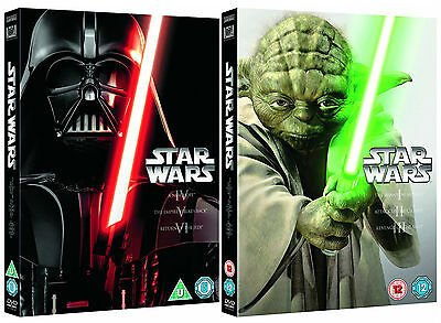 "Star Wars Complete Movie Collection Episode I - Vi Dvd Box Set 6 Discs R4 ""New"""