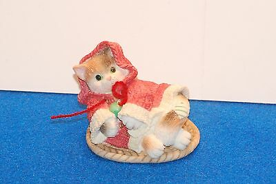 CALICO KITTENS  - ALL WRAPPED UP IN WARMTH - 1997 -  RETIRED