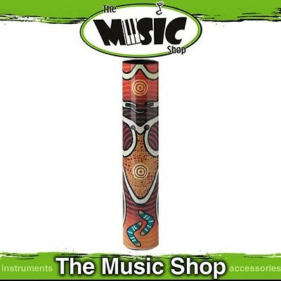 New Remo Didgeharp Shaker - Aboriginal Art Finish - SR-2412-27