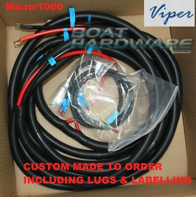 Viper Anchor Winch WIRING LOOM Cable Tinned Copper universal anchor winch wiring loom cable tinned copper wire suit micks winch wiring diagram at eliteediting.co