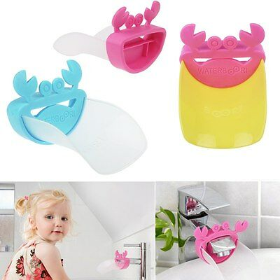 For Kids Baby Bathroom Sink Faucet Tap Extender Help Toddler Washing Hands