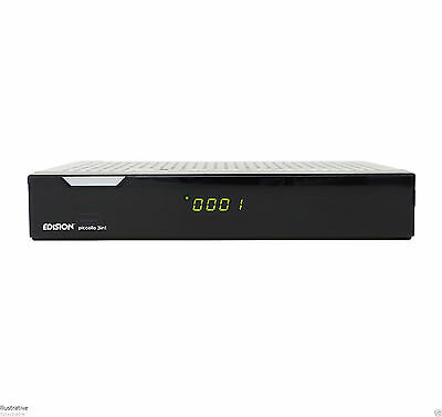 Edision Piccollo 3 In 1 Combo HD Free TV Receiver DVB-S2 / DVB-T2 / Cable / IPTV