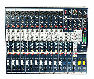 Soundcraft EFX series mixer with built in 24 bit digital lexicon effects proc...