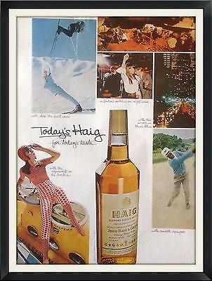 1966  Vintage Print Ad-Haig Blended Scotch Whisky