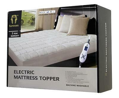 2017 New Electric Mattress Topper Quilted Cotton Top For All Bed Sizes