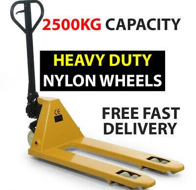 NEW, 2500kg Euro NYLON WHEEL Hand Pallet Truck £249.60 Inc.VAT and Delivery