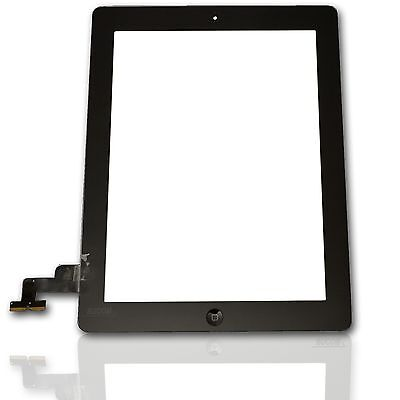 Ipad2 A1395 A1396 A1397 Touch Screen Display Glas Front Scheibe Digitizer black