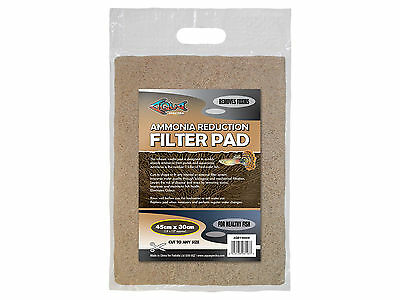 Ammonia Reduction Filter Media Pad for Aquariums & Ponds Cut to Size