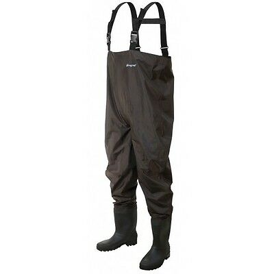 Frogg Toggs Rana II PVC Bootfoot Cleated Chest Waders Sizes 8-13 #2715249