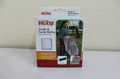 NUBY Stroller & Carrier Netting Storage bag Protect child from mosquitoes