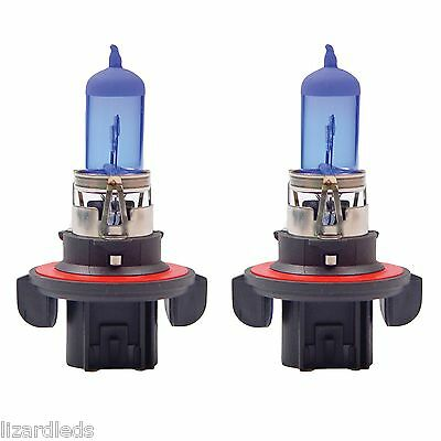 2x H13/9008 Halogen 100/80W 12V Dual-Beam Low/High Headlight Bulbs Bright Xenon