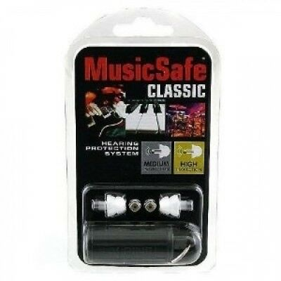 Alpine Hearing Protection MusicSafe Classic Earplugs for Musicians. Shipping is