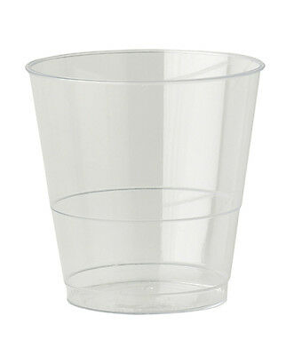 800 x Clear Plastic Cups Strong Mixer Glasses 8oz Disposable