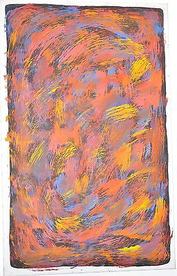 ANGELINE PWERLE NGALE - UTOPIA Early Work of 1996 Aboriginal Painting