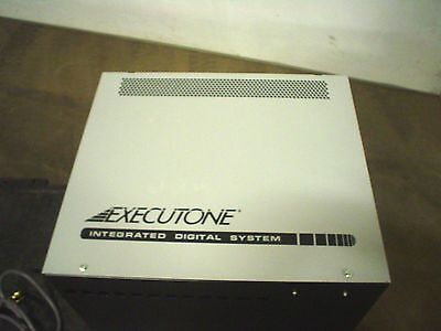 Executone 22200 IDS 84 rack cabinet w/ power supply 22100 -new - 60 day warranty