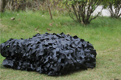 5ftX8ft Party Decoration Sunshades Cloth Black Camouflage Netting Hiking Camping