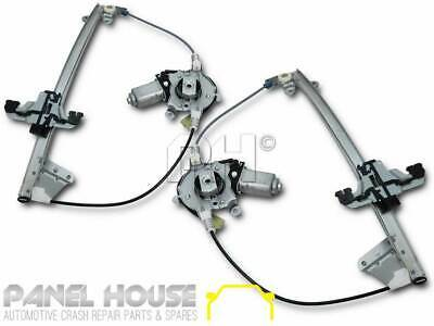 NEW Ford Falcon AU BA BF PAIR Front Power Window Regulator & Motor LHS+RHS